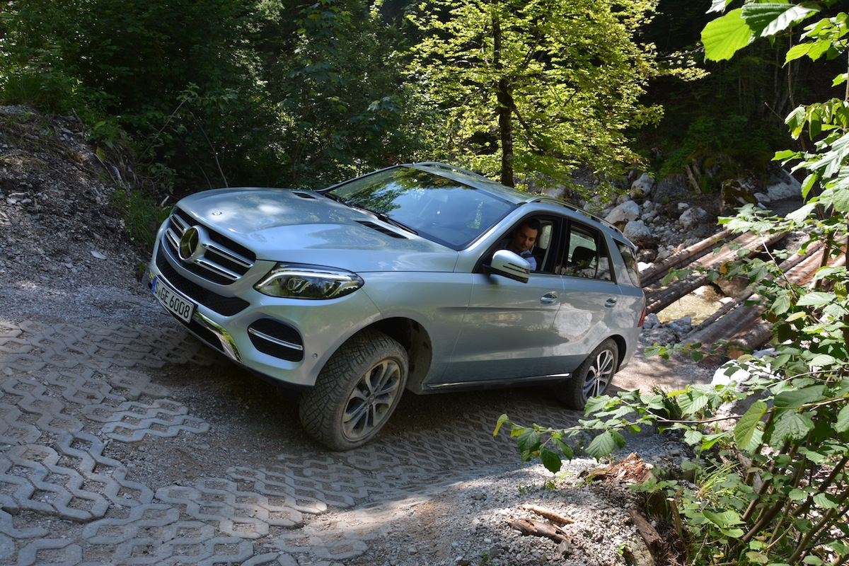 Mercedes Benz GLE Off Road