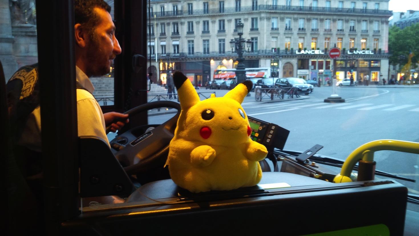 Pikachu RATP