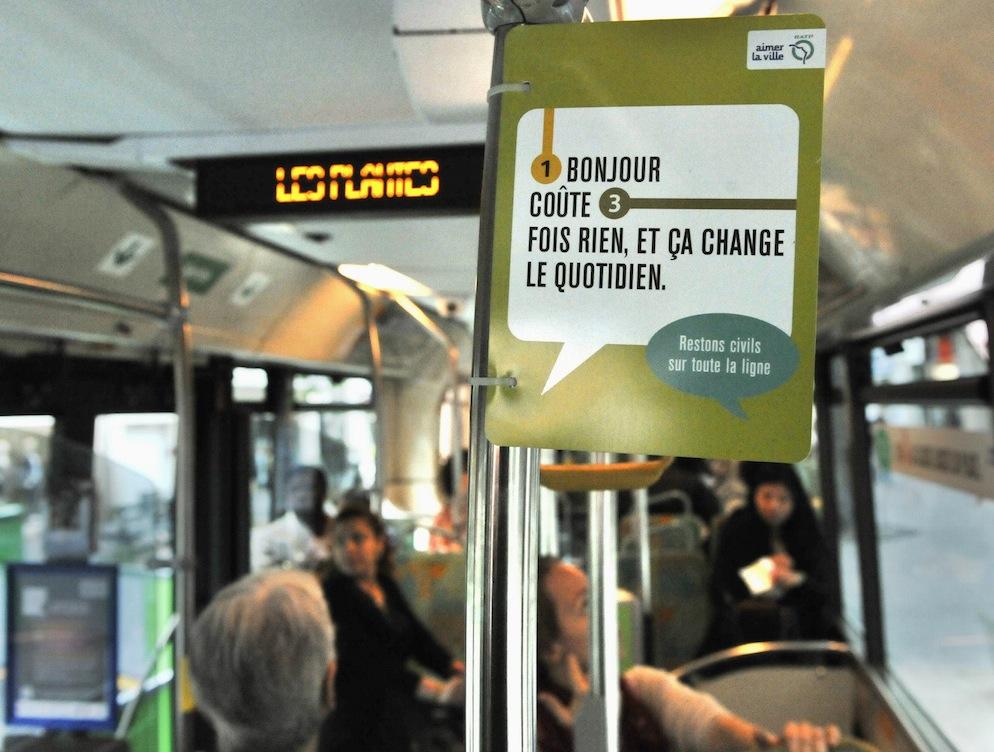 bus RATP Bonjour
