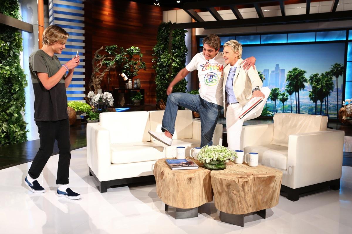 Damn Daniel Ellen DeGeneres Daniel Lara Joshua Holz