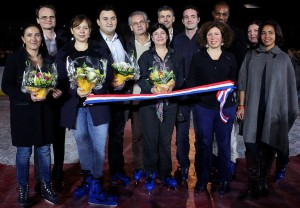 Bercy Patinoire inauguration